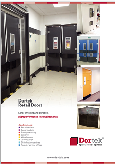 Dortek has launched a new retail brochure showcasing our range of retail doors. retail brochure & New Dortek Retail Brochure - Dortek GRP Doors