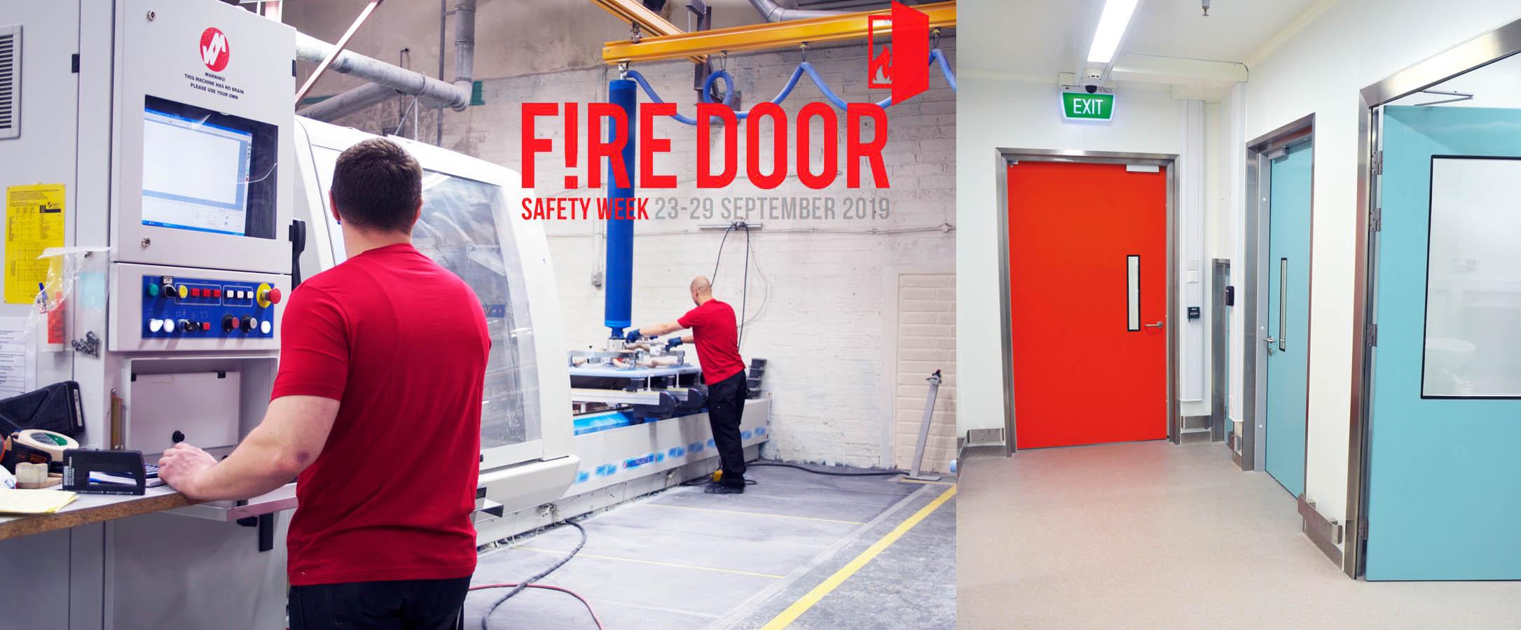 fire door safety week dortek fire doors