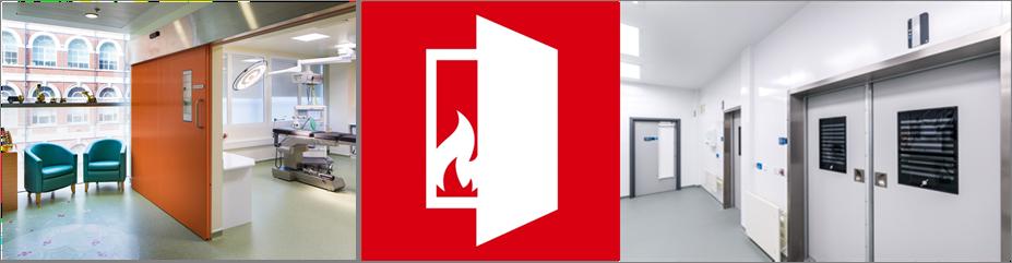 Dortek Fire Doors, sectional doors, stacking doors