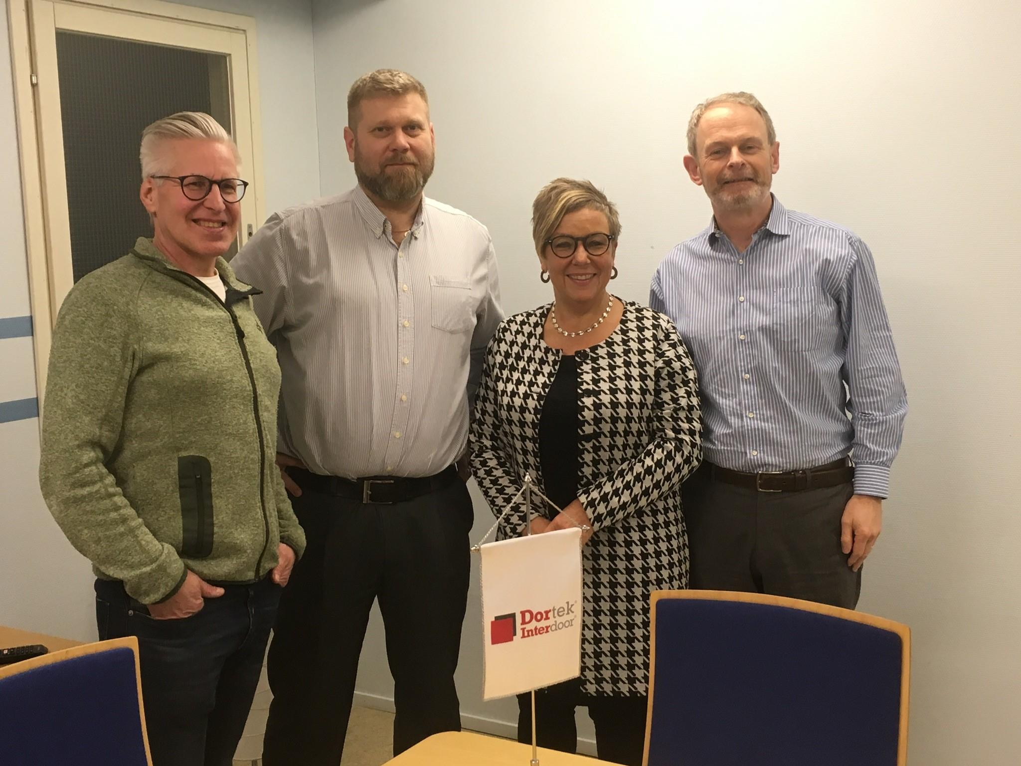 Swedish MP visits Dortek Sweden factory