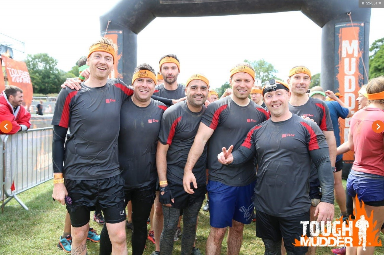 Tough Mudder 2018 – Well Done Dortek Hull!