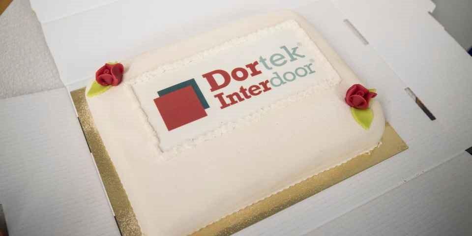 Dortek Interdoor celebrate their 1 year anniversary!