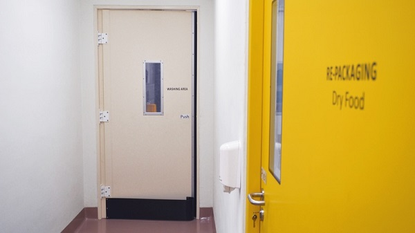 Choosing the right doors for food processing facilities