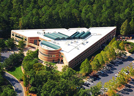 Maximising space at the Research Triangle Park
