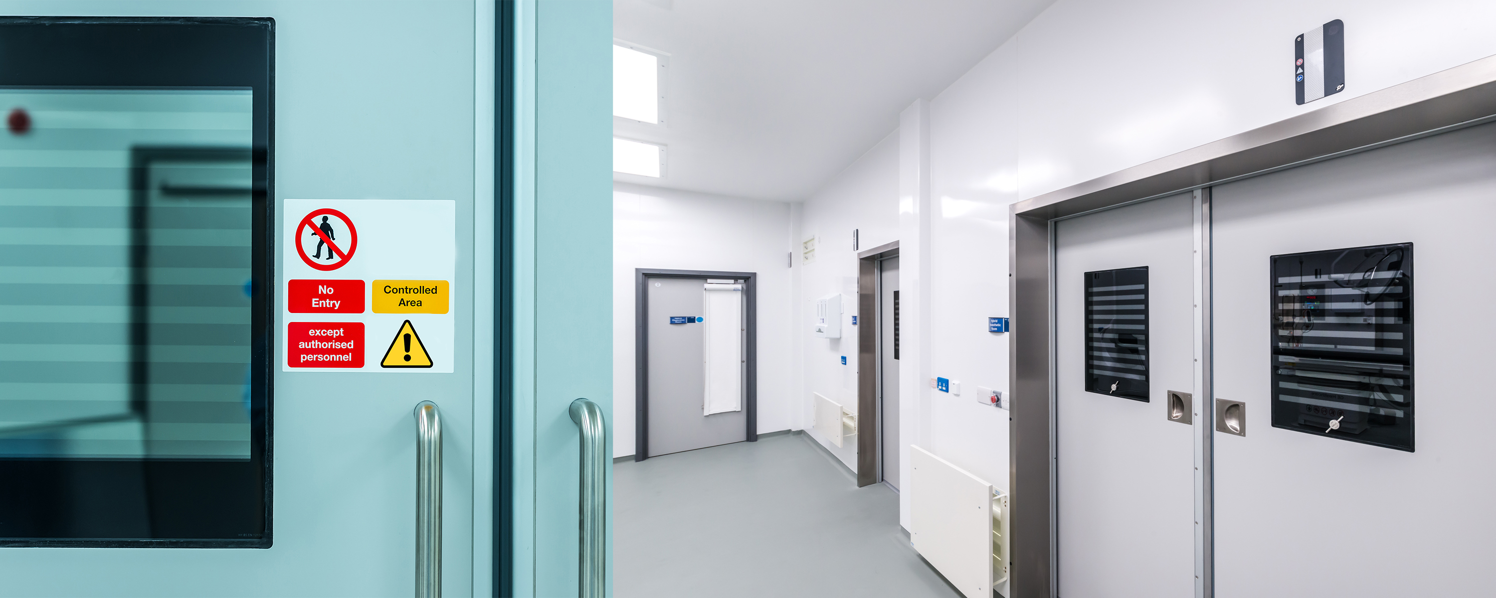 Specifying Doors for Isolation Wards and Quarantine areas